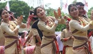 Goru Bihu at Church Field